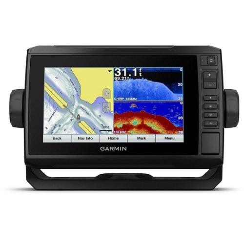 Garmin ECHOMAP Plus 73cv Sonar/GPS Chartplotter Combo