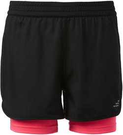 BCG Girls' 2fer Shorts