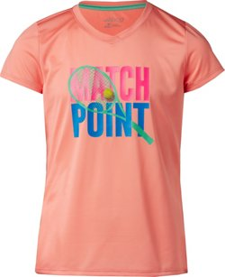 BCG Girls' Athletic Turbo Match Point Graphic T-shirt