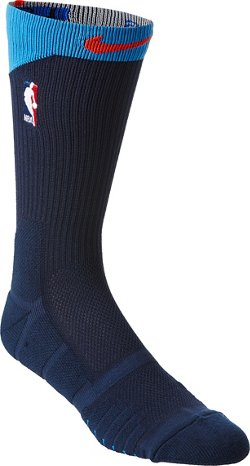 Nike NBA U Elite Alt Oklahoma City Thunder Quick Crew Socks