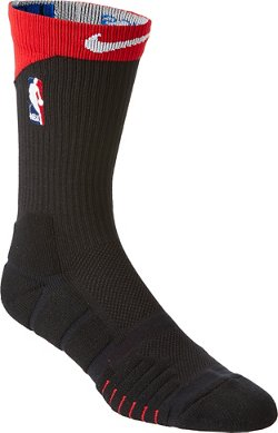 Nike NBA U Elite Alt Houston Rockets Quick Crew Socks