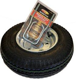Malone Auto Racks 8 in Galvanized Spare Tire with Locking Attachment