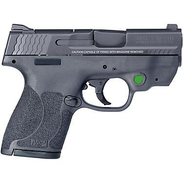 Smith & Wesson M&P40 ShieldM2 0 Crimson Trace GRN Laser 40 S&W Compact  7-Round Pistol
