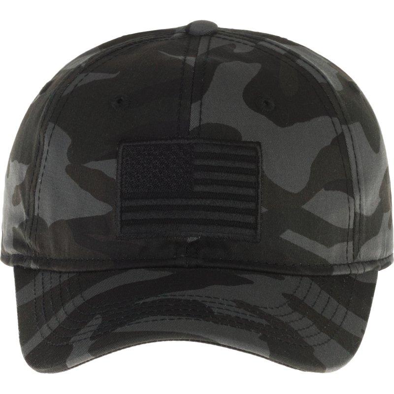 Academy Sports + Outdoors Men's Americana Camo Twill Hat - Men's Hunting/Fishing Headwear thumbnail