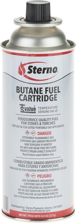 Sterno 8 oz Butane Fuel Cartridge