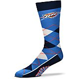 For Bare Feet Oklahoma City Thunder Argyle Socks