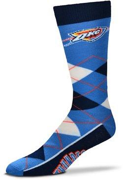 For Bare Feet Oklahoma City Thunder Argyle Socks