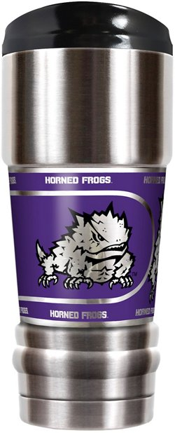 Great American Products Texas Christian University MVP 18 oz Travel Tumbler