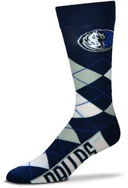 For Bare Feet Dallas Mavericks Argyle Socks