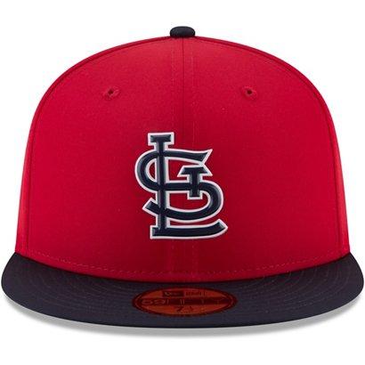 18d00c3ddd6 ... New Era Men s St. Louis Cardinals ProLight 59FIFTY Road Batting  Practice Fitted Cap. STL Cardinals Headwear. Hover Click to enlarge