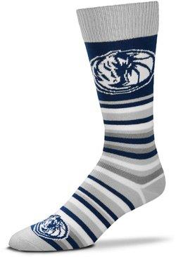 For Bare Feet Dallas Mavericks Lotta Stripe Thin Socks