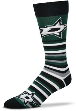 For Bare Feet Dallas Stars Lotta Stripe Thin Socks