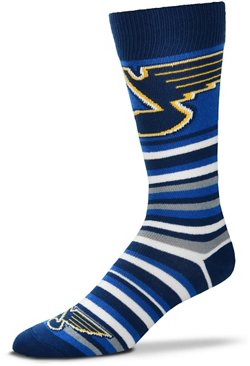 For Bare Feet St. Louis Blues Lotta Stripe Thin Socks