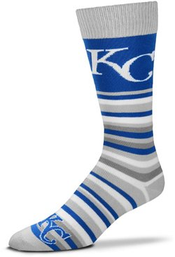 For Bare Feet Kansas City Royals Lotta Stripe Thin Socks