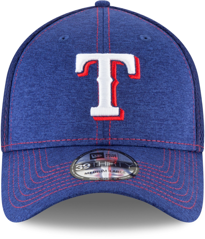buy popular 50469 d74d6 New Era Men s Texas Rangers 39THIRTY Classic Shade Neo Cap   Academy