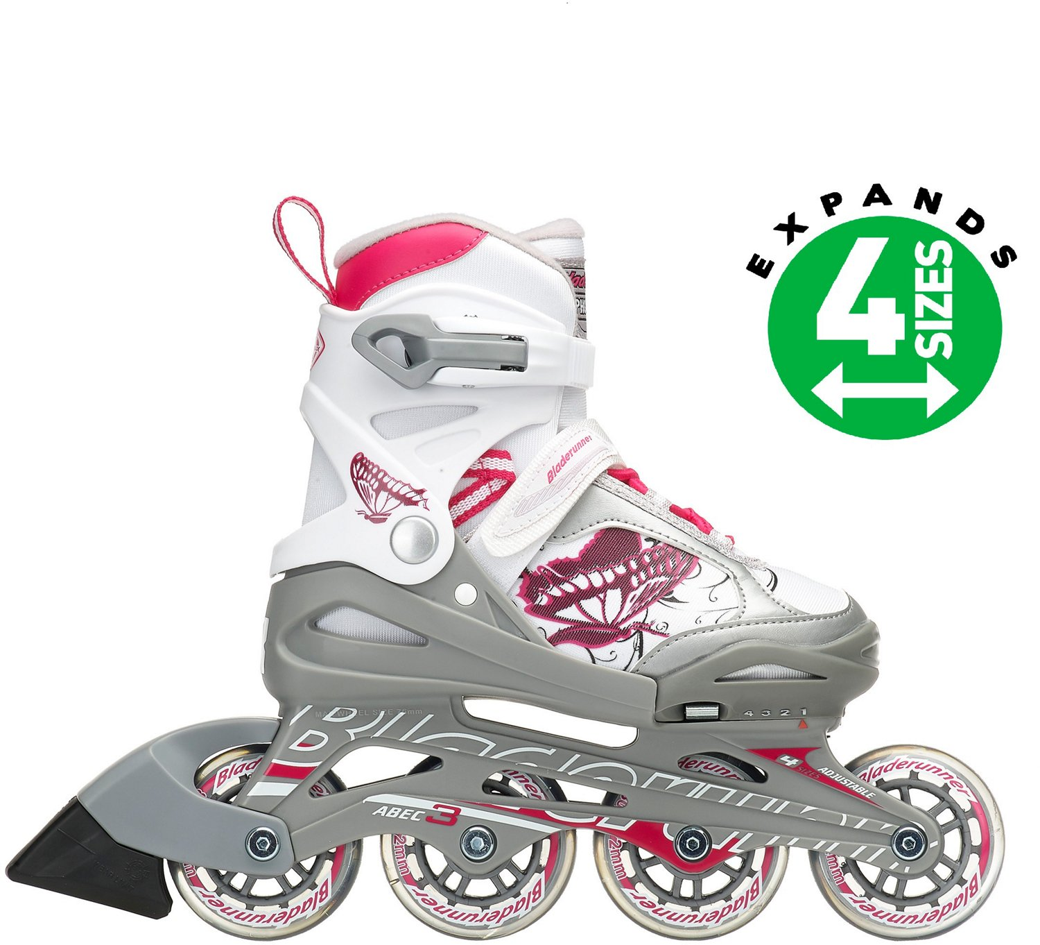 Display product reviews for Rollerblade Girls  Bladerunner Phoenix  Adjustable In-Line Skates 4747283bdb4