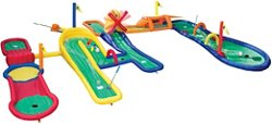 Banzai Land Bouncer Goofy Golf Mini Golf Course Set