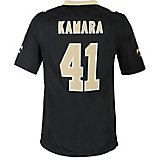 154b2cdec Nike Men s New Orleans Saints Alvin Kamara Replica Game Jersey