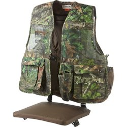 Men's Mesh Mossy Oak Camo Turkey Vest