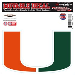 Stockdale University of Miami Movable Decal