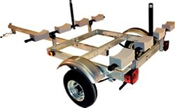 Malone Auto Racks XtraLight 4-Kayak Trailer Kit