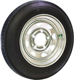 Malone Auto Racks 12 in Galvanized Spare Tire with Locking Attachment