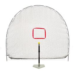 3-In-1 Batting Tee and Net Set