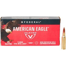 American Eagle .224 Valkyrie 75 Grain TMJ Rifle Ammunition