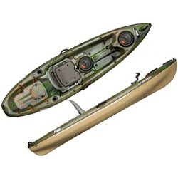 10 ft Premium ENFORCER 100X ANGLER Fishing Kayak