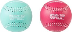 Academy Sports + Outdoors Weighted Training Softballs 2-Pack