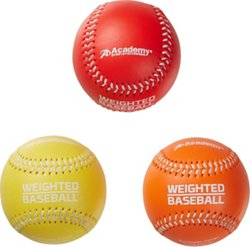 Academy Sports + Outdoors Weighted Training Baseballs 3-Pack