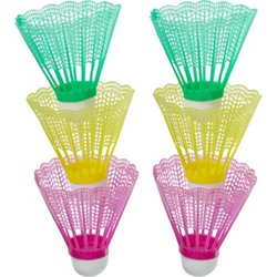 Neon Shuttlecocks 6-Pack