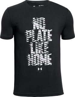 Under Armour Boys' No Plate Like Home T-shirt