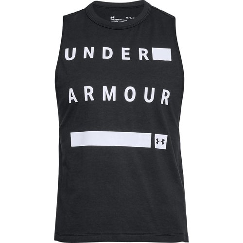 Under Armour Women's Linear Wordmark Muscle Tank Top