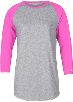Intensity Women's FP Heathered 3/4-Length Sleeve Shirt