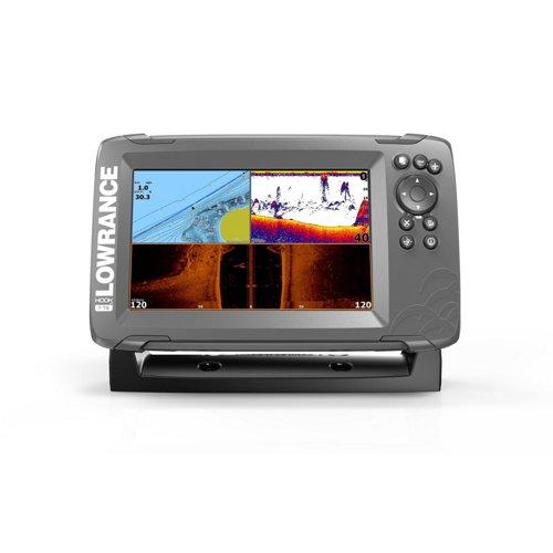 Lowrance HOOK2-7 TripleShot Fishfinder/GPS Combo