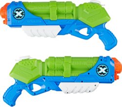 ZURU X-SHOT Water Warfare Typhoon Thunder Water Blasters 2-Pack