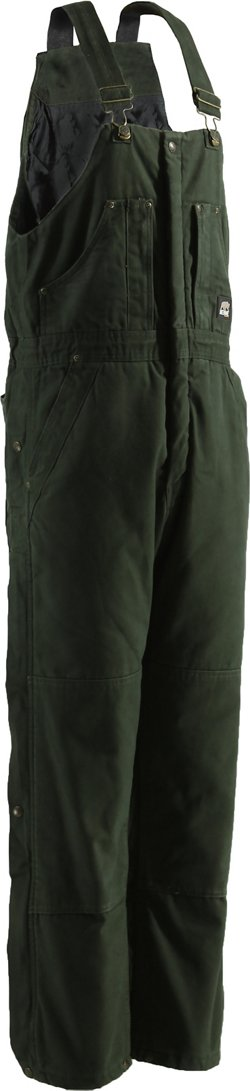 Berne Men's Original Washed Insulated Bib Overalls