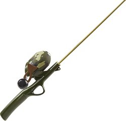 Shakespeare Kids' Camo 2 ft 6 in M Spincast Rod and Reel Combo