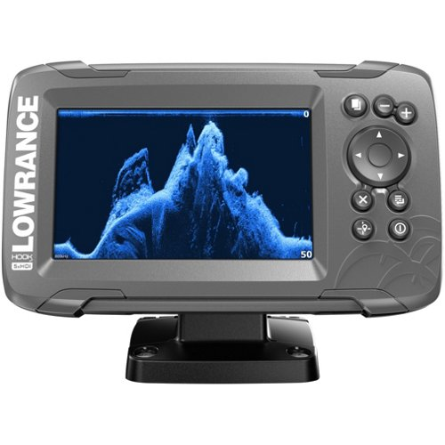 Lowrance HOOK2-5x Fishfinder with SplitShot Transducer and GPS Plotter