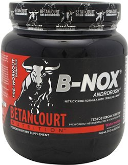Betancourt Nutrition B-NOX Preworkout Supplement