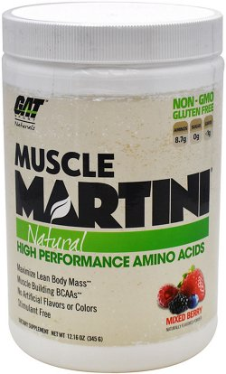 GAT Natural Muscle Martini High Performance Amino Acids