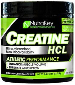 NutraKey Creatine HCL Powder