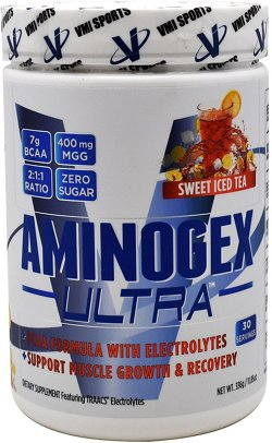 VMI Sports Aminogex Ultra BCAA Formula with Electrolytes
