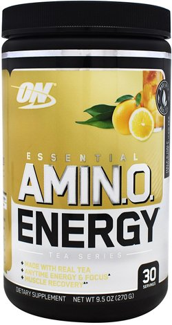 Optimum Nutrition Tea Series Essential Amino Energy Supplement