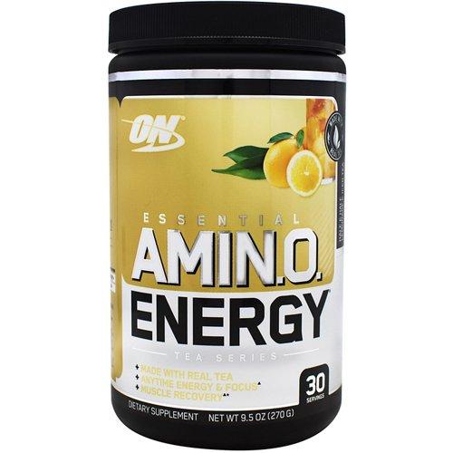 Optimum Nutrition Tea Series Essential Amino Energy Supplement