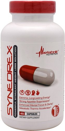 Metabolic Nutrition Syndrex Weight Loss Capsules