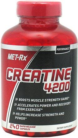 MET-Rx Creatine 4200 Capsules