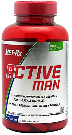 MET-Rx Active Man Multivitamin Tablets