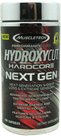MuscleTech Hydroxycut Hardcore Next Gen Capsules